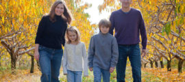 The PACT Program helps parents with cancer like Jen Norton (pictured with her children, Greta and Anders, and her husband, Steve) navigate the difficult waters of family life with their diagnosis.