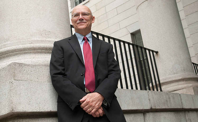 Harry W. Orf, PhD, Mass General's senior vice president for research, says philanthropy to research programs will become more important if Trump budget cuts are enacted.