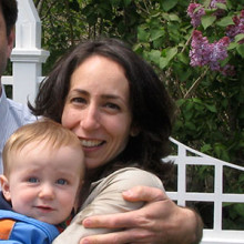 Paul Poth (left) has left a legacy of innovative research into rare cancers with the establishment of the TargetCancer Foundation. He is shown here with his wife Kristen Palma Poth and their son.