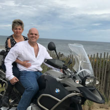 Paul Pratt and Basia Kurkiewicz enjoy life even while Paul undergoes cancer treatment.