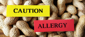 The study found that children regularly exposed to peanut-containing foods at an early age were 81% less likely to develop a peanut allergy.