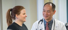 "To lose weight, Tricia Stone worked with Dr. Paul Huang through a program called ""Learn to be Lean."""