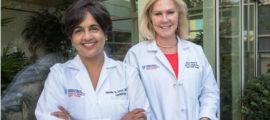 Nandita Scott, MD (left), and Malissa Wood, MD, co-directors ofthe Corrigan Women's Heart Health Program