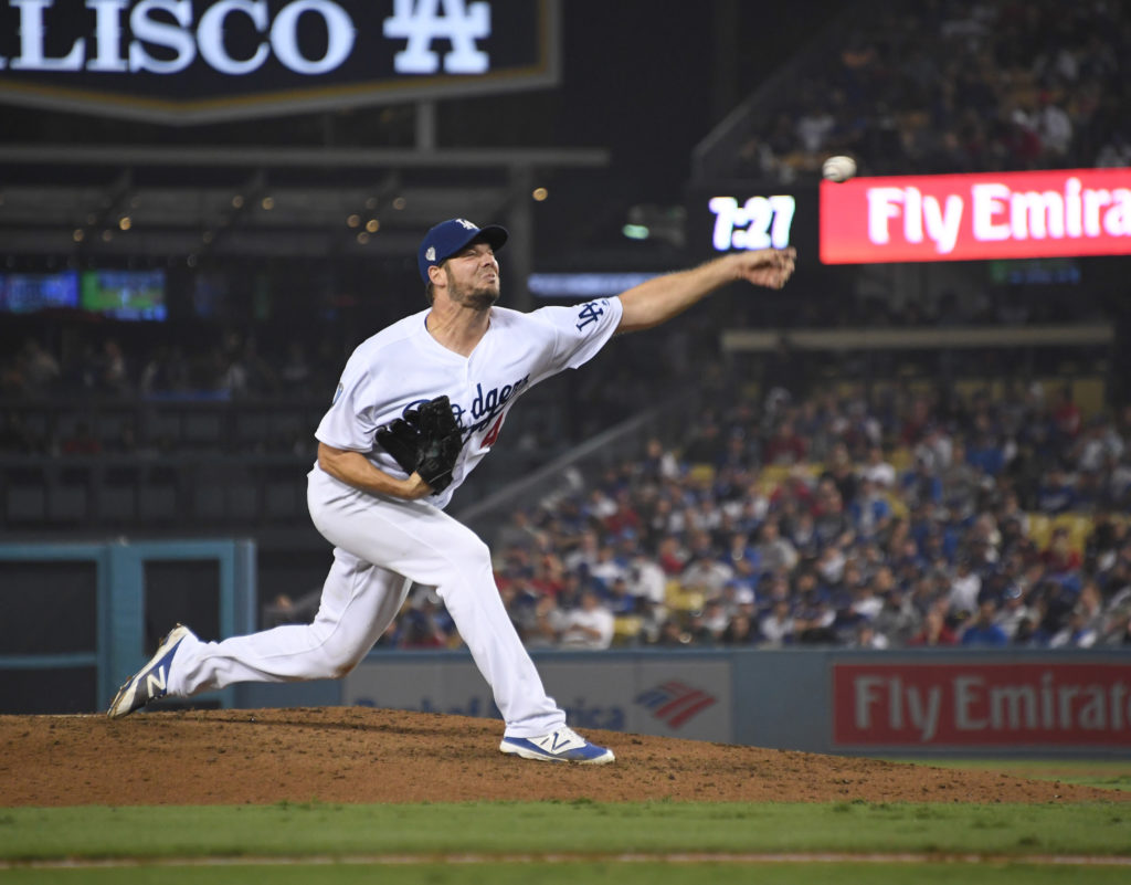 On Oct. 27, 2018, Rich Hill pitched for the Los Angeles Dodgers against the Boston Red Sox in game 4 of the 2018 World Series.