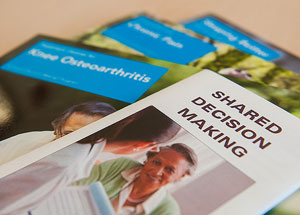 The MGH Health Decision Sciences Center distributes decision aids that physicians prescribe to patients.