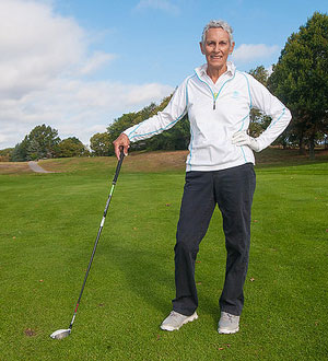 More than satisfied with her decision to undergo neobladder reconstruction, Linda Goulet is already back on the links.
