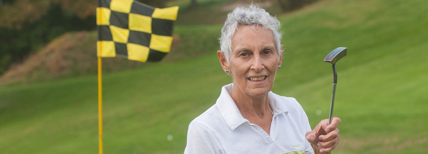 """Linda Goulet first encountered """"shared decision making"""" when she came to Massachusetts General Hospital for advice about treating her stage III bladder cancer."""
