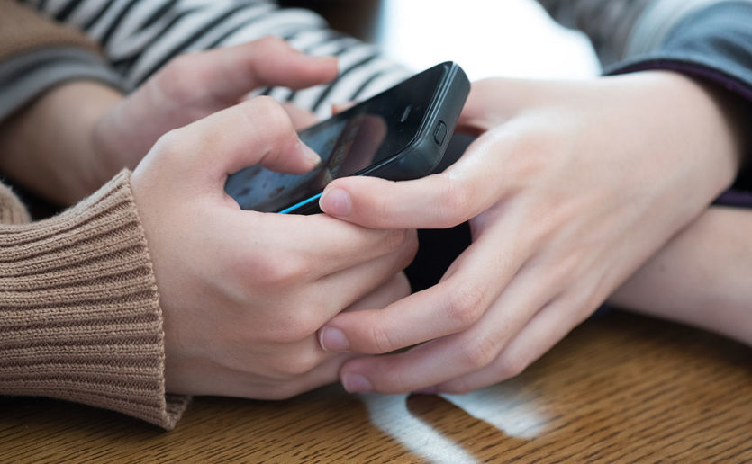 Smartphones have dramatically changed the way parents and their children communicate.