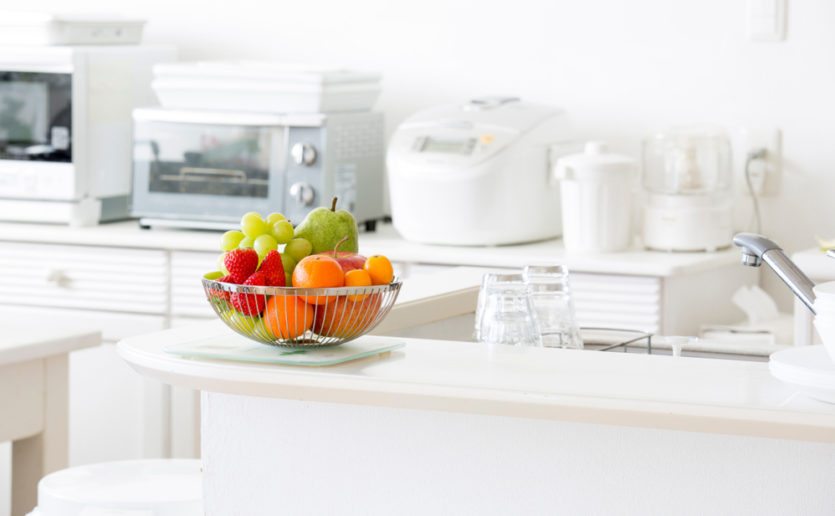 A Mass General nutritionist says decluttering your cabinets, counters, and fridge shelves this spring will make it easier to adopt a healthier diet.