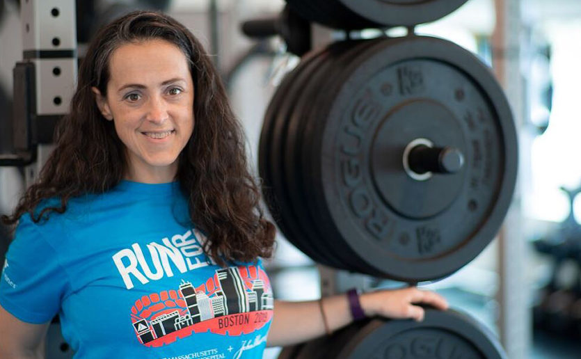 Army Major Vanessa Stolzoff has stepped up her training to prepare for the 2019 Boston Marathon®, which will be her first full marathon.