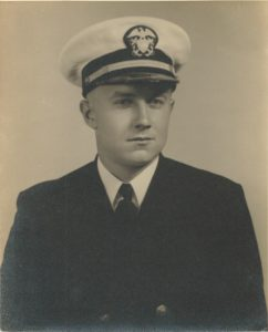 Frank Symosek enlisted in the Navy and helped carry out dangerous missions during World War II.