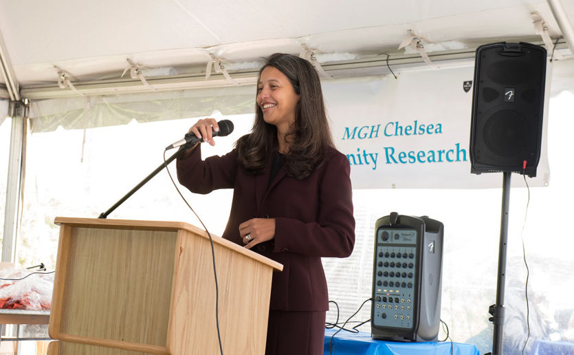 Elsie Taveras, MD, MPH, believes research can help to address the causes of childhood health problems and reduce health disparities.