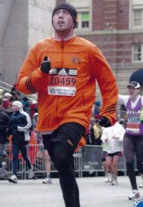 Rob Toomy first ran the Boston Marathon ten years ago.