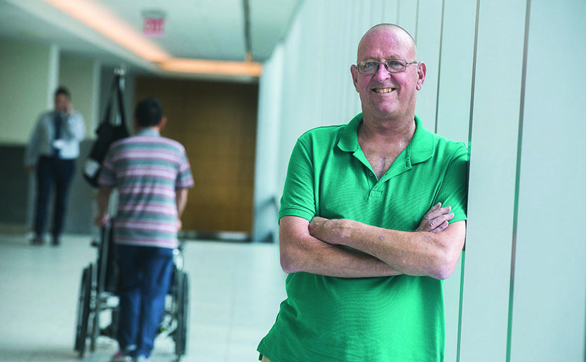 To get the heart transplant he needed, Dennis Kaminski and his Mass General care team had to navigate many potential perils.