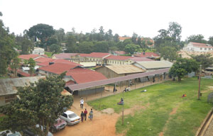 The campus of Mbarara Regional Referral Hospital is the site of many of Mass General's efforts and has an impact in Uganda.