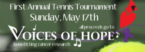 Voices of Hope Tennis Tournament @ Memorial Park Tennis Courts   Reading   Massachusetts   United States