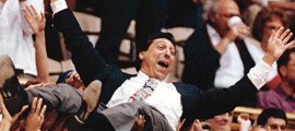 The V Foundation for Cancer Research is carrying on the legacy of Jim Valvano, the beloved former head basketball coach of North Carolina State University.