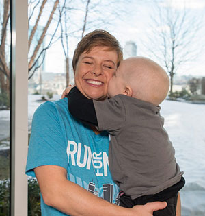 Tarrah Zedower says her son, Caden, is doing amazingly well thanks to the cancer treatments he received at Mass General.
