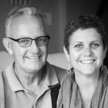 """Now, I can use my experience to help others,"" says Judy Johanson, pictured with her late husband, Steve, who had early onset Alzheimer's disease.  She now works with the Mass General Caregiver Support Program."