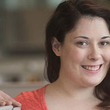 Thanks to Aspire, Amanda Murphy has her first job in a corporate environment.