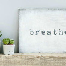 Taking a deep breath, the kind that pouches out your belly, when stressed, and, at intervals throughout the day, can halt the stress response to anger.
