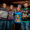 L-R: Kristen Curran, Andrew Curran, Victoria Kane, Elizabeth Schwartz, Tom Curran, Liz Curran at the Ugly Christmas Sweater Bar Crawl in December. Photo: Amanda Kowalski