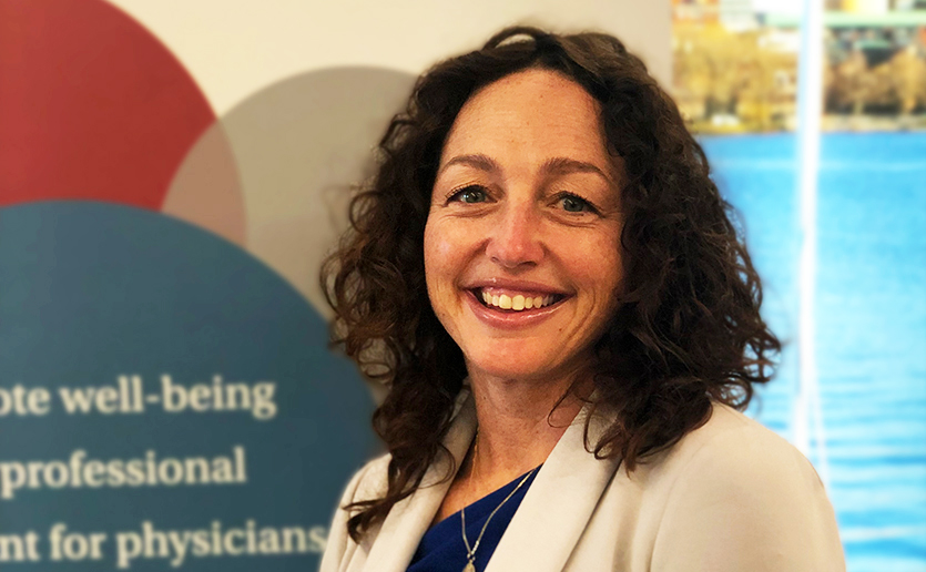 Kerri Palamara McGrath, MD, director of the new Center for Physician Well-Being, has been passionate about this issue since she was a Mass General resident intern.