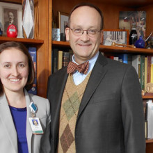 Thoralf M. Sundt, MD, and Julia Jackson, MBA