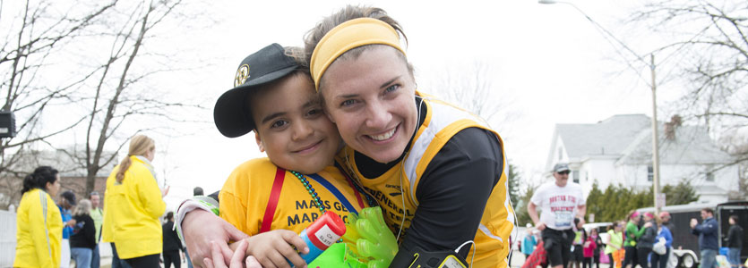 Boston Marathon for pediatric hematology oncology