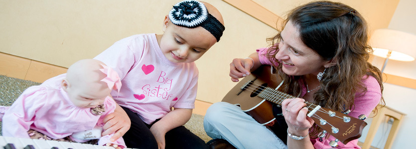 Corporate Giving | Cancer Center Music Therapy Program