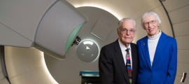 Herman Suit, MD, PhD, and Joan Suit, PhD, made gifts to Mass General to improve proton beam therapy and services for cancer patients.