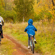 Making exercise a family event can encourage kids to be more physically active.