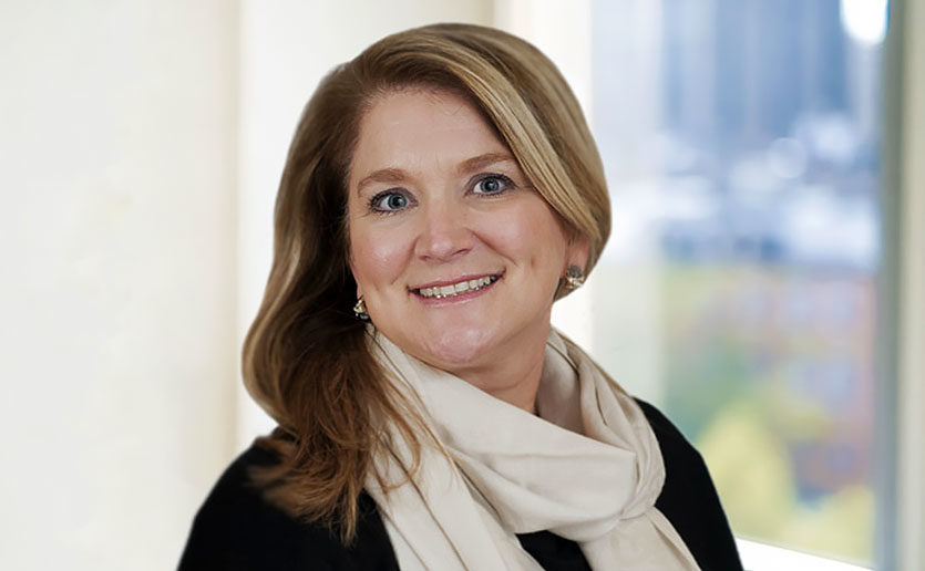 Darlene Sawicki, MSN, NP-BC, the incumbent of the new David Richards Endowed Nursing Chair in ALS.