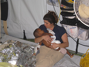 After a massive earthquake hit Haiti in 2010, nearly 100 MGH volunteers mobilized a large-scale effort to go to the island nation to treat the ill and injured.