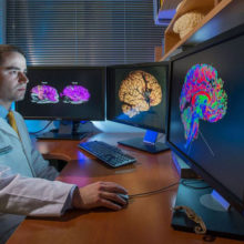 Neuroscientist Brian Edlow, MD, is part of a Mass General team that has used powerful MRI technology to generate the most detailed three-dimensional images of the human brain ever produced.