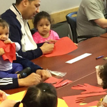 The Fatherhood Project's Dads and Kids Activity Group gives dads and their children regular time for one-on-one and group activities as well as skill-building exercises for the fathers.