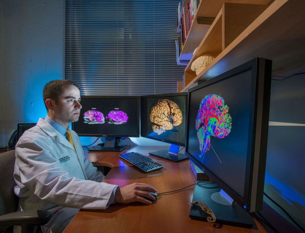 Neurologist Brian Edlow, MD, is using brain imaging technologies to determine if severely brain injured patients in the ICU are likely to regain conscious.