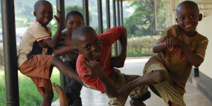 Global Health: Children Dancing