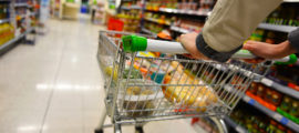 Planning ahead can help reduce the anxiety associated with grocery shopping during COVID-19.