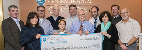 The Granite State Quest last year raised more than $100,000 to support the fight against pediatric cancer