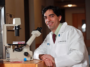 Dr. Demehri has found a substance in the immune system that seems to control early development of breast and skin cancer.