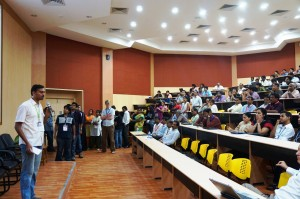 A hack-a-thons such at the Vellore Institute of Technology University in India