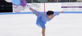 Judy Lipson skates in honor of her sisters and continues her family's long-term support for the John D. Stoeckle Center for Primary Care at Mass General.