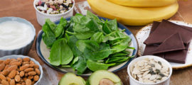 Eating foods rich in magnesium can help reduce anxiety symptoms, an MGH psychiatrist says.