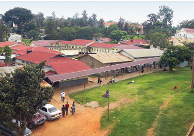 The First Mile, is the latest initiative of a partnership that includes Mass General, the Mbarara University of Science and Technology and the Mbarara Regional Referral Hospital, pictured here.