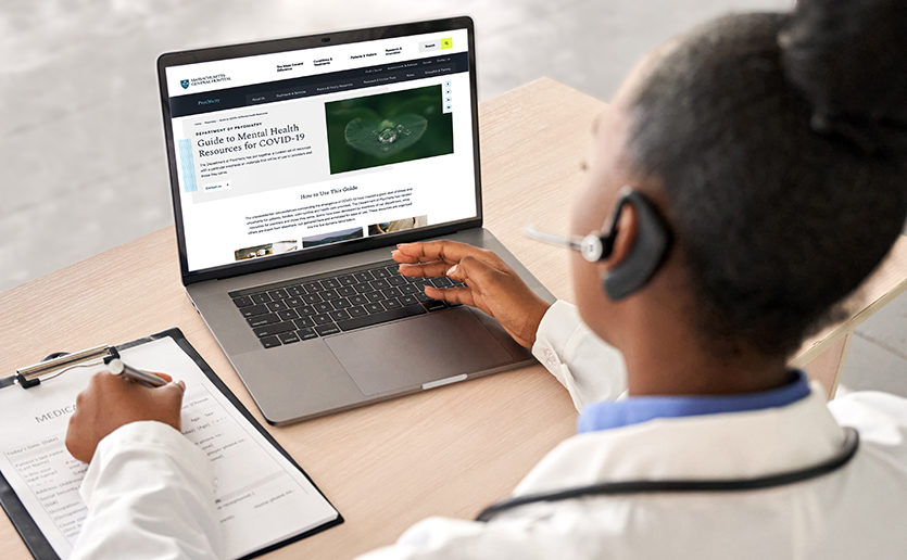 Telehealth and online resources can improve patient care and access to mental health services.