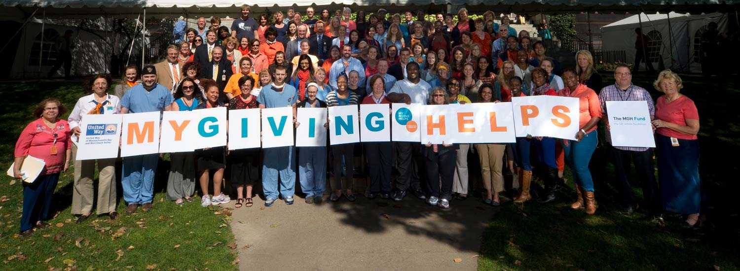Thousands of MGH Employees Support the My Giving Helps Campaign