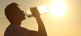 Learn the signs of heat exhaustion and heat stroke.
