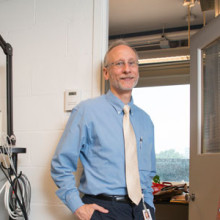 MGH researcher Ann Louise Oaklander, MD, PhD, pictured with MGH researcher Max Klein, PhD, is working to help patients who live with chronic pain and mysterious symptoms.