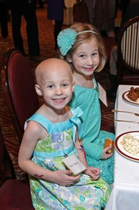 Hope Bolster, left, and her sister, Quinn. Comfort and Hope: The Work of Friends